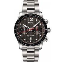 Mido Men's M0256271106100 Multifort Chronograph Watch