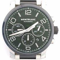 Montblanc Timewalker Steel Black Ceramic Chronograph  103094