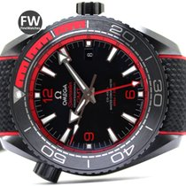 Omega Planet Ocean 600M Omega Co-Axial Master GMT Ceramic