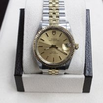 Tudor Prince Oysterdate 14K Yellow Gold & stainless Steel