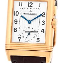 "Jaeger-LeCoultre Gent's 18K Rose Gold  ""Reverso Duo""."