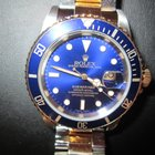 Rolex submariner or/acier