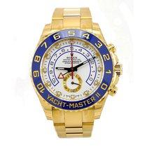 Rolex YACHT-MASTER II 44mm 18K Yellow Gold Watch 2016