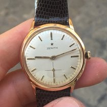 Zenith oro gold 33 mm manuale stellina star