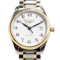 Longines Master Gold And Steel White Automatic L2.257.5.78.7