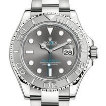 Rolex Oyster Perpetual Yacht-Master 40mm Platinum & Steel