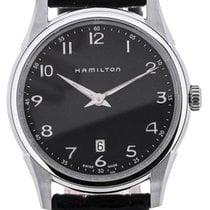 Hamilton Jazzmaster Thinline Quartz Black Dial
