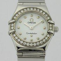 Omega Constellation ''My Choice'' Diamond Quartz Steel Lady...