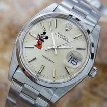 Rolex Oysterdate Precision 6694 Mickey Swiss Made Stainless...
