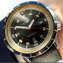 Nivada Original Nivada Grenchen Dephtomatic Diver Watch Vintage