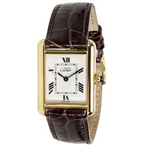 Cartier Tank 2415 Women's Watch in Vermeil