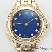 Cartier COUGAR GELBGOLD 750 DIAMANTEN BRILLANTEN LADY