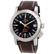 Glycine Airman 17 Black Dial Automatic Men's Watch
