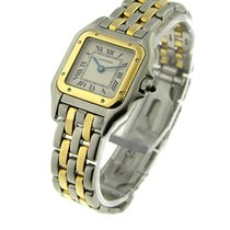 Cartier W25029B6 Panther in 2-Tone Small Size - Yellow Gold...