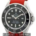 Rolex Sea-Dweller Deepsea Stainless Steel 43mm Red RubberB...