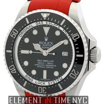 Rolex Sea-Dweller Deepsea Stainless Steel 43mm Red RubberB...