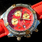 Breitling EVOLUTION ROTES ZIFFERBLATT RED DIAL WITH DIAMOND