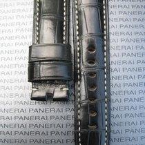Panerai Black Alligator Band Strap Bracelet 24/22 for Tang 24mm