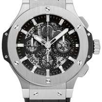 Hublot Big Bang Stainless Steel Rubber Automatic Men`s Watch