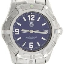TAG Heuer Professional 2000 Series Stainless WN1112 Blue Stick...