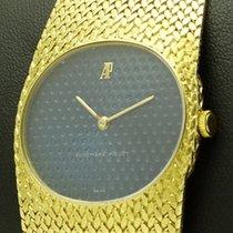 """Audemars Piguet 18 kt yellow gold, Blue """"Golf"""" dial"""