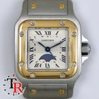 Cartier Santos  Moon Phases Steel and Gold