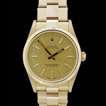 Rolex Oyster Perpetual - Ref. 14208 - 18. Karat Gelbgold -...