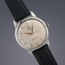 Omega Seamaster stainless steel automatic bumper