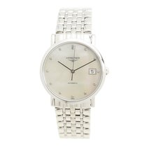 Longines Elegant Stainless Steel White Automatic L4.809.4.87.6