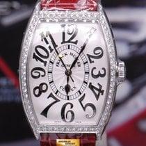Franck Muller Curvex Ss 1 Row Diamonds Relief Quartz Ref 5850...