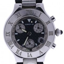 Cartier Must 21 Collection Automatic-self-wind Mens Watch 2424
