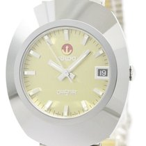 Rado Mint Condition Rado Diastar Gold Plated Steel Automatic...