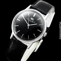 IWC 1973 Vintage Mens Classic Dress Watch, Caliber 403 - Stainle