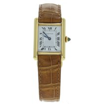 Cartier Tank Louis W1529856 18k Yellow Gold