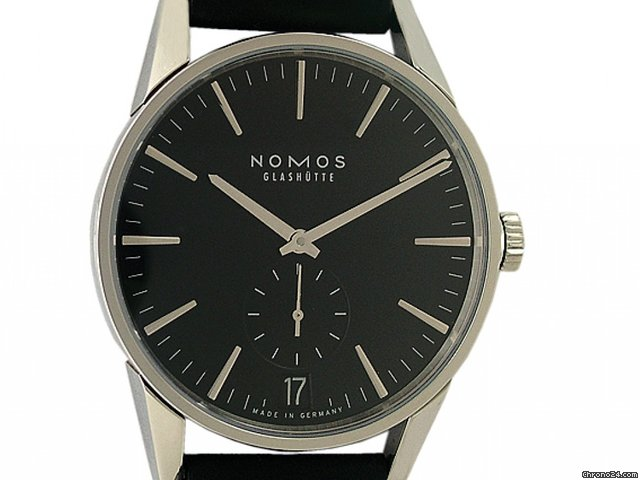 Nomos Glashtte Zrich Datum Glasboden 40mm