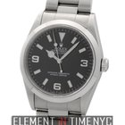 Rolex Explorer I Stainless Steel Black Dial 1999 36mm Ref. 14270