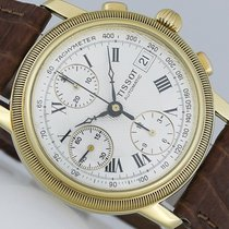 Tissot Bridgeport Chronograph Gold