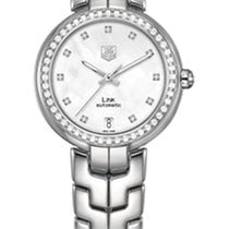 TAG Heuer Link Ladies Quartz 34,5mm  White Mother of Pearl Dial
