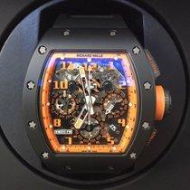Richard Mille [MINT] RM 011 Flyback Chronograph Orange Storm...