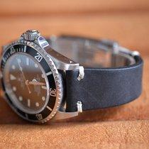 Rolex Lederband Leather strap for original clasp GMT Submariner