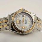 Breitling Lady Wings Gold Steel Bracelet Pearl Roman Dial 31 mm