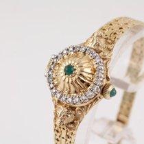 Fabergé Damenuhr in Gelbgold