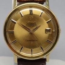 Omega Vintage Constellation Grand Calendar Luxe 18K Gold Dial...