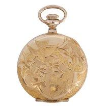 Elgin Antique 14K Gold Filled Hunter Case Pocket Watch