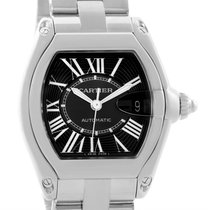 Cartier Roadster Black Dial Large Automatic Steel Watch W62041v3
