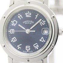 Hermès Clipper Stainless Steel Quartz Ladies Watch Cl4.210...