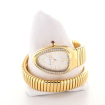 Bulgari Serpenti Tubogas 35 Gemstone Gold