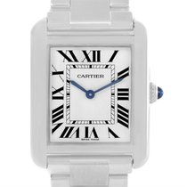 Cartier Tank Solo Small Stainless Steel Ladies Watch W5200013