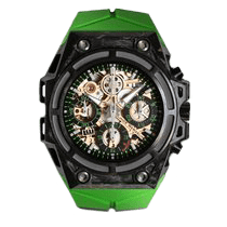 林德 (Linde Werdelin) SpidoSpeed Carbon Green