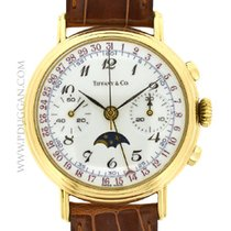 Tiffany & Co. 18k yellow gold Triple Date Moonphase...